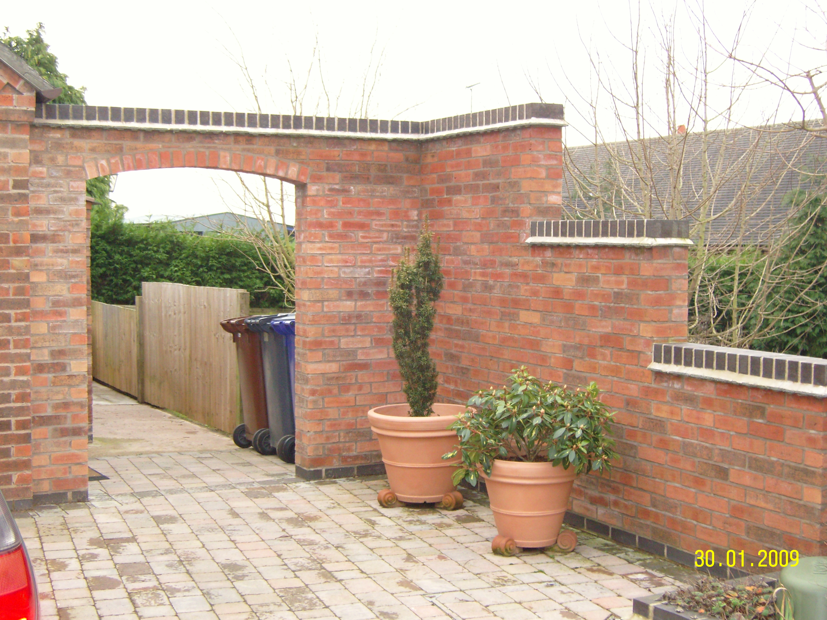 Landscaping, Draycott in the Clay